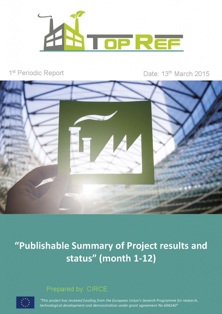 """Publishable Summary of Project results and status"" (month 1-12)_Página_1"