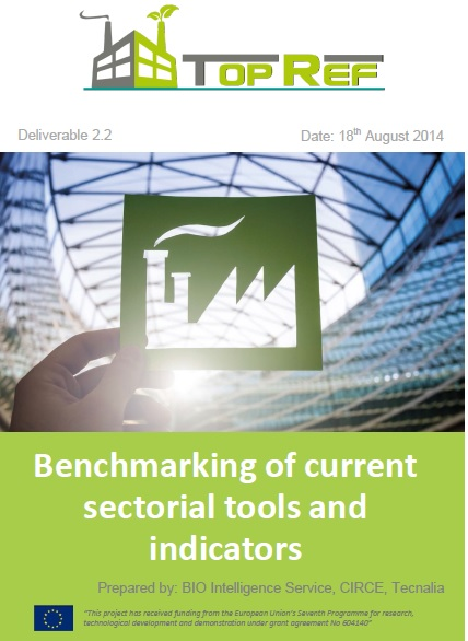 Benchmarking of current sectorial tools and indicators_comp